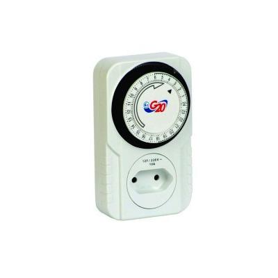 Encontre Timer Temporizador Analógico Bivolt Programável Liga Desliga. Confira timers temporizadores em danielEletro, especializda em material elétrico!