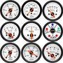 Manômetro Willtec 52mm Instrumento Painel Relógio Automotivo