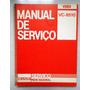 Manual De Serviço Original Vídeo Cassete Sharp Vc 8510