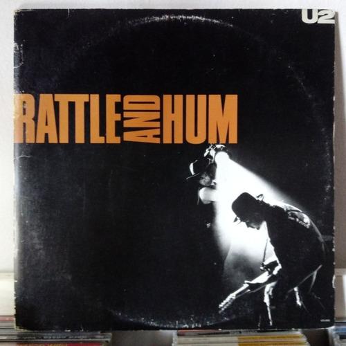 Lp Vinil U2 Rattle And Hum- Duplo 1984/aa119 Original