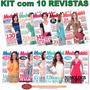 Kit 10 Revistas Moda Moldes Roupa Corte E Costura Novas