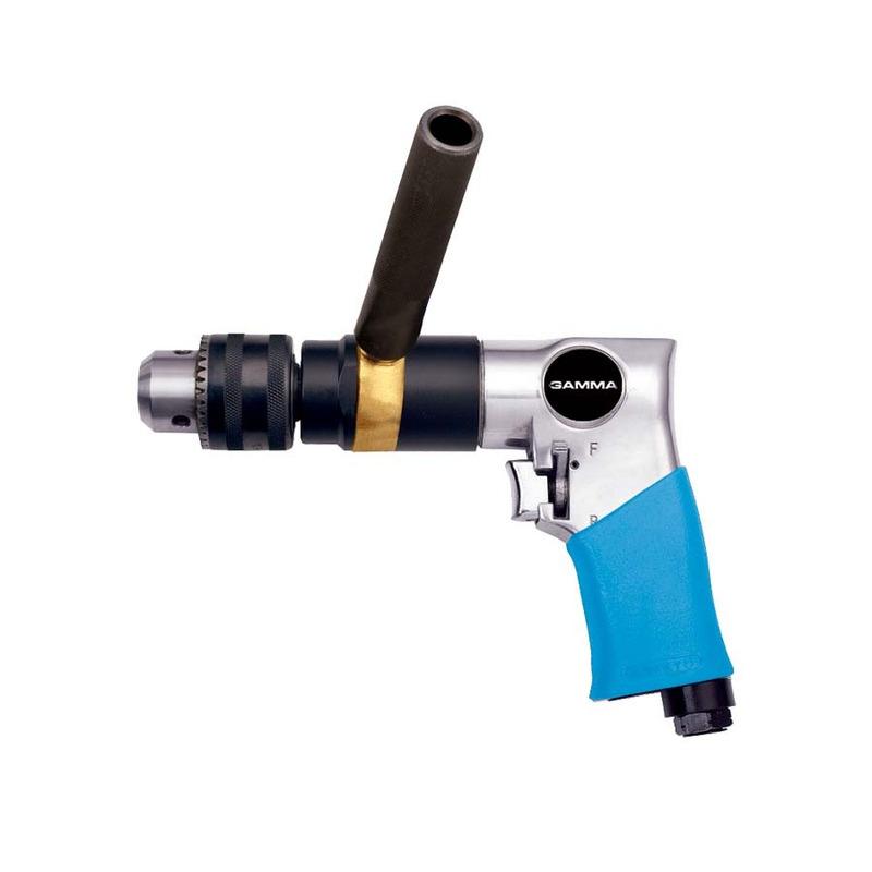 Furadeira Reversível Pneumática 13mm 1/2 G3188/BR - Gamma Ferramentas