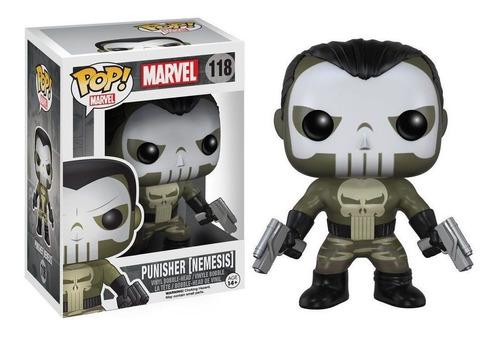 Punisher Nemesis #118 - Justiceiro - Funko Pop! - S/ Juros Original