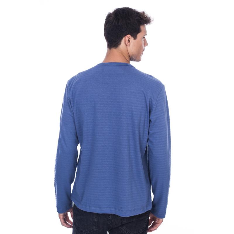 Camiseta Manga Longa WDL Azul
