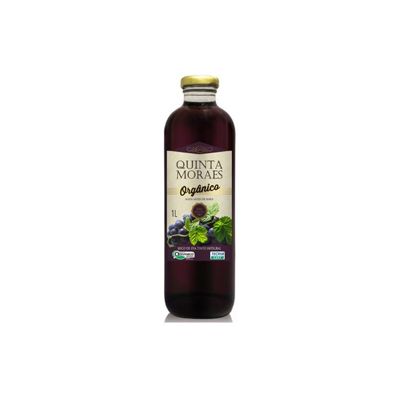 Suco de Uva Tinto Orgânico 1 Li - Quinta Moraes