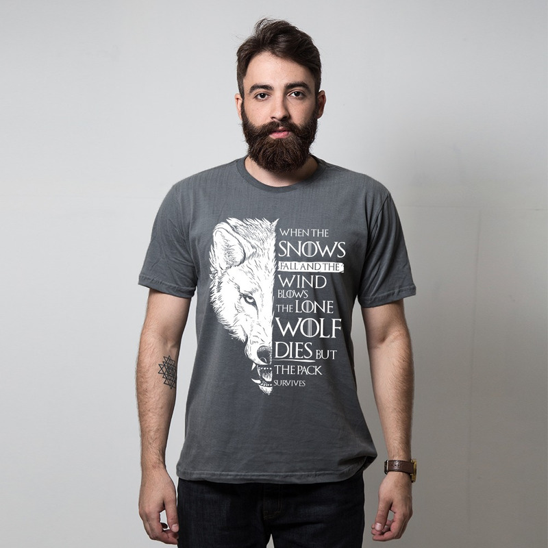 CAMISETA CHUMBO - THE PACK SURVIVES