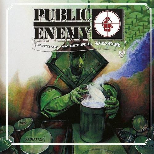 Cd +  Dvd Public Enemy , New Whirl Odor Original