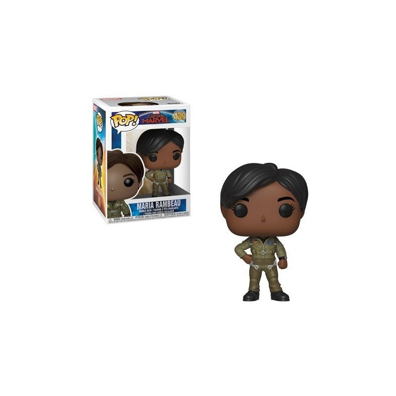 Maria Rambeau Pop Funko #430 - Capitã Marvel - Movies