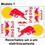 Adesivo Cartela Moto Gp Red Bull Grande 40 X 30 Cm
