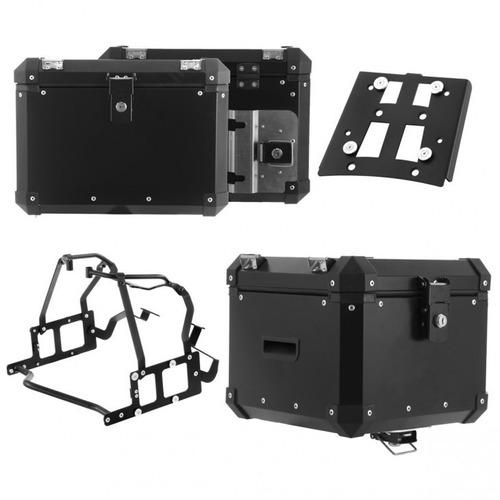 Bau Roncar Kit Completo Top Case Bmw F 800 Gs 2007/15 Preto