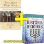 Livro Teologia Puritana Doutrina História Dos Hebreus Cpad