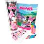 Minnie Tubo De Histórias Para Colorir Livro Canetinhas