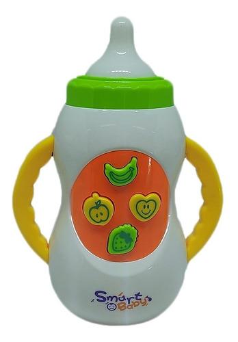 Brinquedo Educacional Mamadeira Musical Para Bebê Criança Original