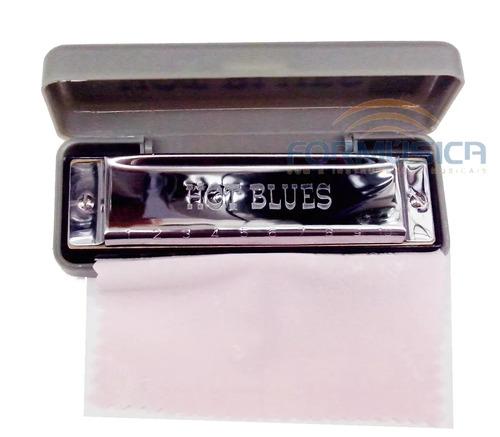 Gaita Blues Hb01 Diatônica Afinação C - Promoção!!