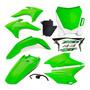 Kit Plástico Crf 230 2015 2018 Verde Plate Amx