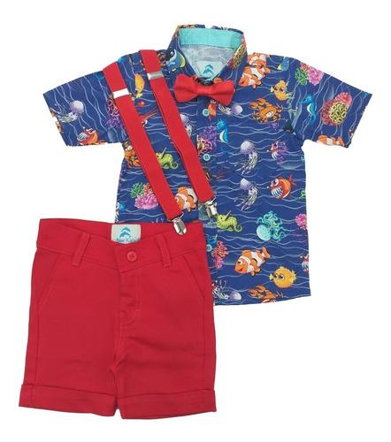 Conjunto Roupa Infantil Procurando Nemo