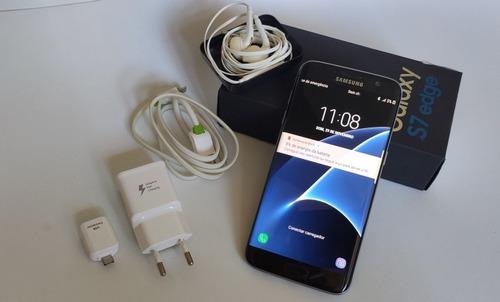 Samsung Galaxy S7 Edge G935 32gb 4gb Ram Burn-in Leve Original