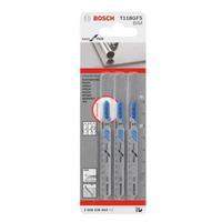 Cartela de Lâmina Bosch Tico Tico T-118GFS 3 peças