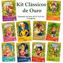 Kit Livro Infantil Clássicos 10 Livros Frete 7, 00