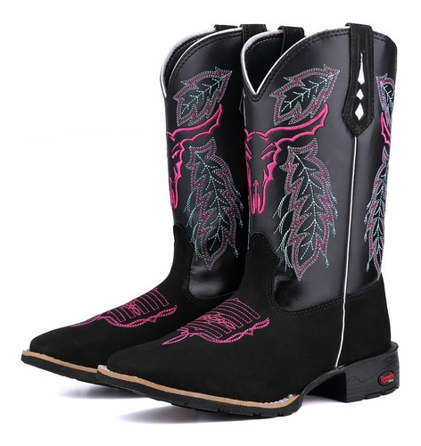 Bota Montaria Feminina Cano Alto Texana Country 2018 Original