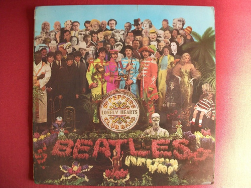 Lp Beatles Sgt. Pepper's Lonely Stereo 1967 Inglês Uk (1.st) Original
