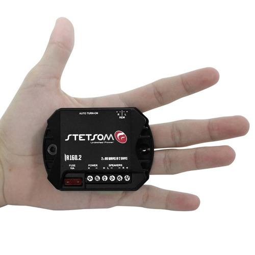Módulo Stetsom Mini Ir 160.2 Digital Som Automotivo 2 Canais