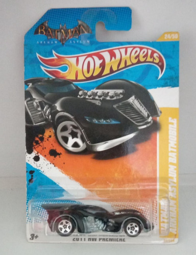 Hot Wheels Batman: Arkham Asylum Batmobile - 024/2011 Original