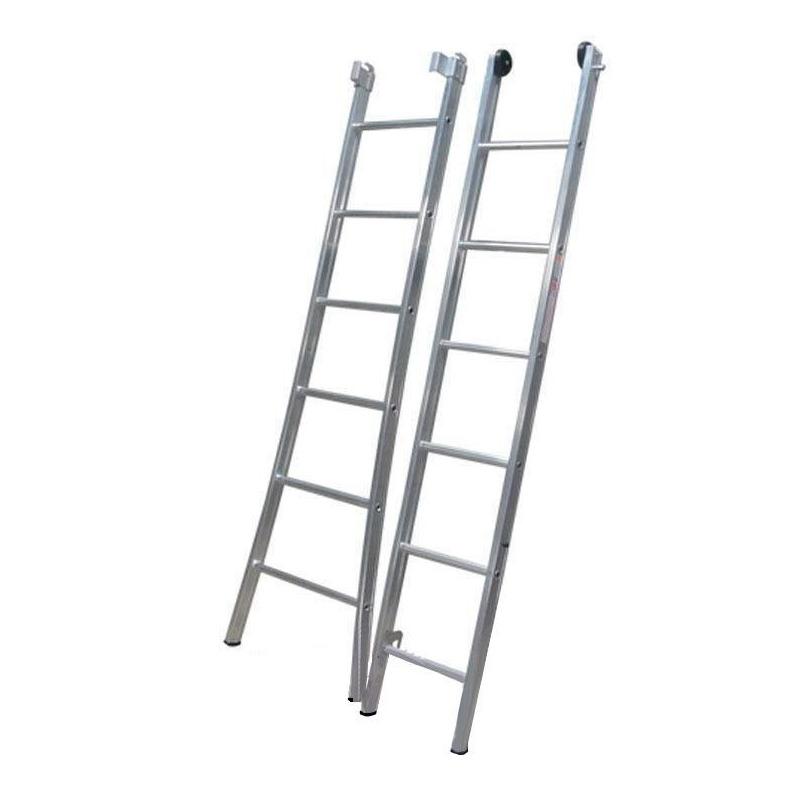 Escada Esticavél Dupla 13 Degraus 4,20x7,20-Alulev