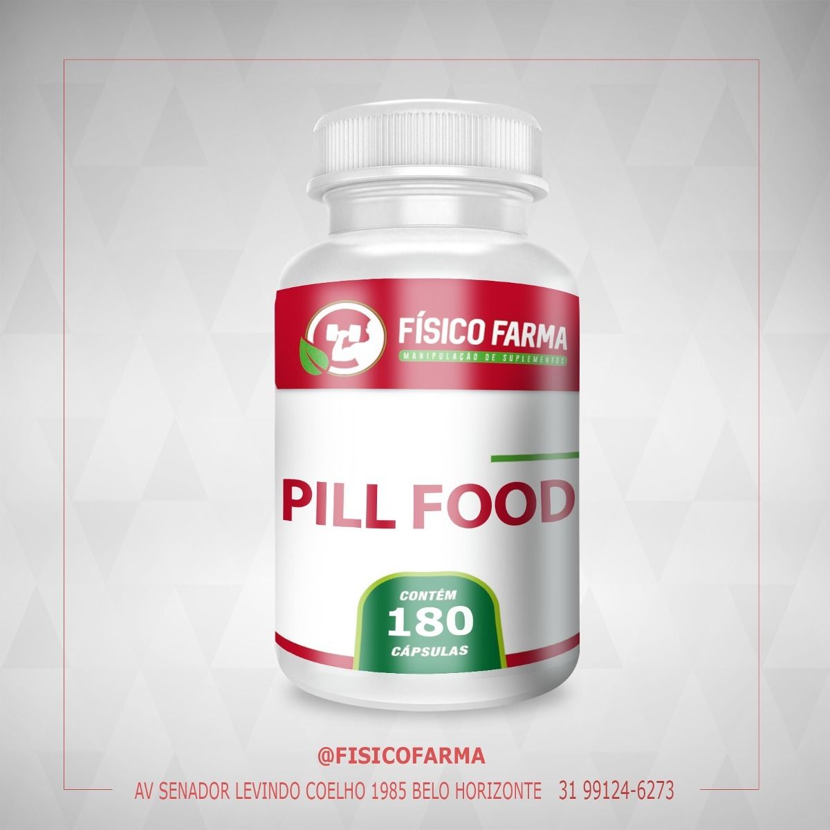 Pill Food - 90 Caps
