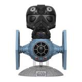Tie Fighter Pilot C/ Tie Fighter Pop Funko #221 - Star Wars
