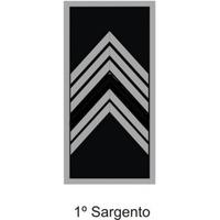 Divisa 1° Sargento PM Emborrachada - PAR