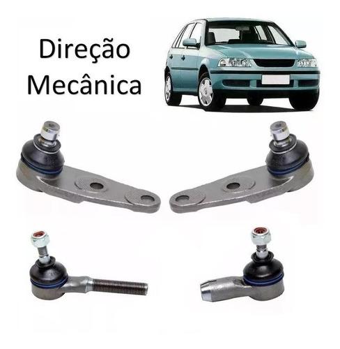 Kit Terminal Pivô Gol Parati Saveiro G3 G4 Direção Mecanica Original