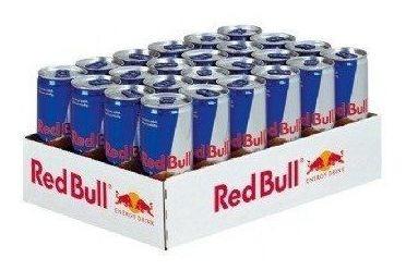 Energético Red Bull - Pack Com 24 Unidades De 250ml Original