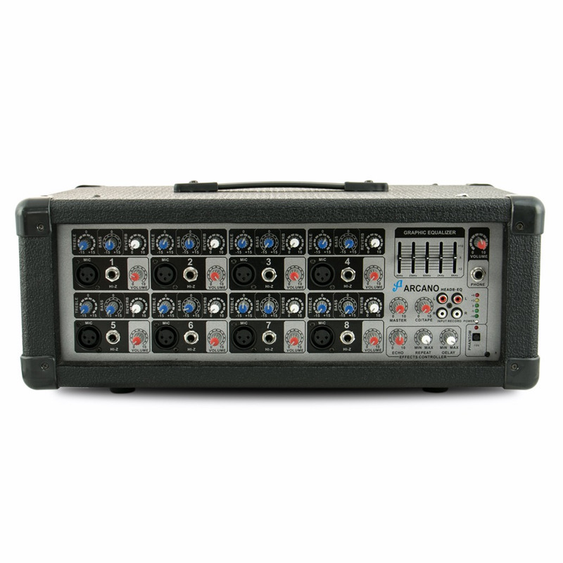 Cabeçote Amplificado Arcano Head8-eq