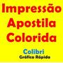 310 Impressão Apostila Colorida Frete Grátis