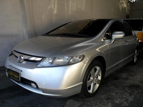 Honda Civic Lxs 1.8flex Automático 2008 Multimidia