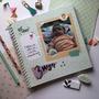2 Livros Diário Do Bebê Álbum Presente Recordação