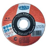 DISCO DE CORTE 115X1.6X22.2 A46BF INOX