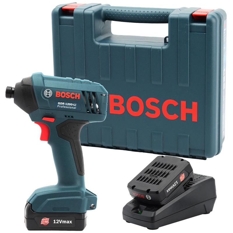 Chave de Impacto 19B3 GDR 1200-LI 220V Bateria - Bosch