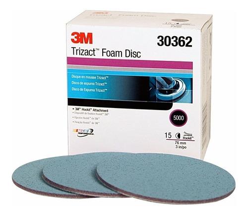 3m Hookit Disco Trizact P5000 6 Polegada Lixa Para Polimento Original