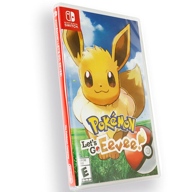 Jogo para Nintendo Switch Mídia Física Pokémon Let's Go Eevee Original