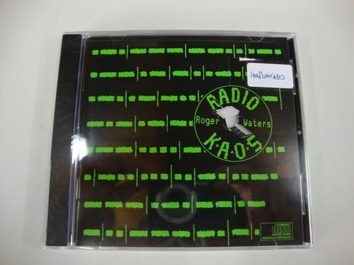 Cd Roger Waters - Radio K.a.o.s. - Lacrado, Importado. Original