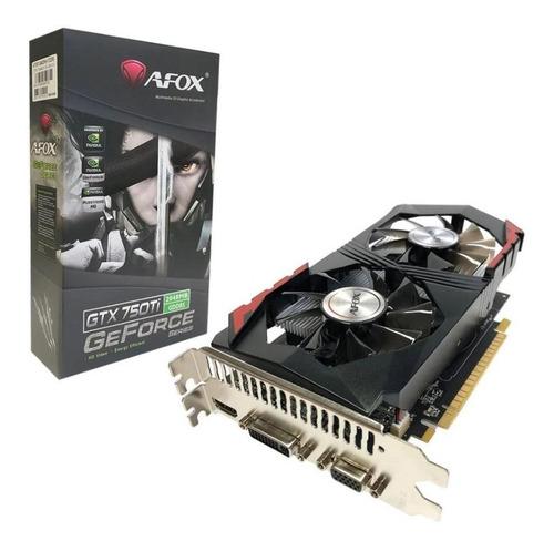 Placa De Vídeo Afox Geforce Gtx750ti 2gb Gddr5 128 Bits Hdmi Original