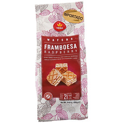 Wafers Framboesa Raspberry 125 g - Vi...