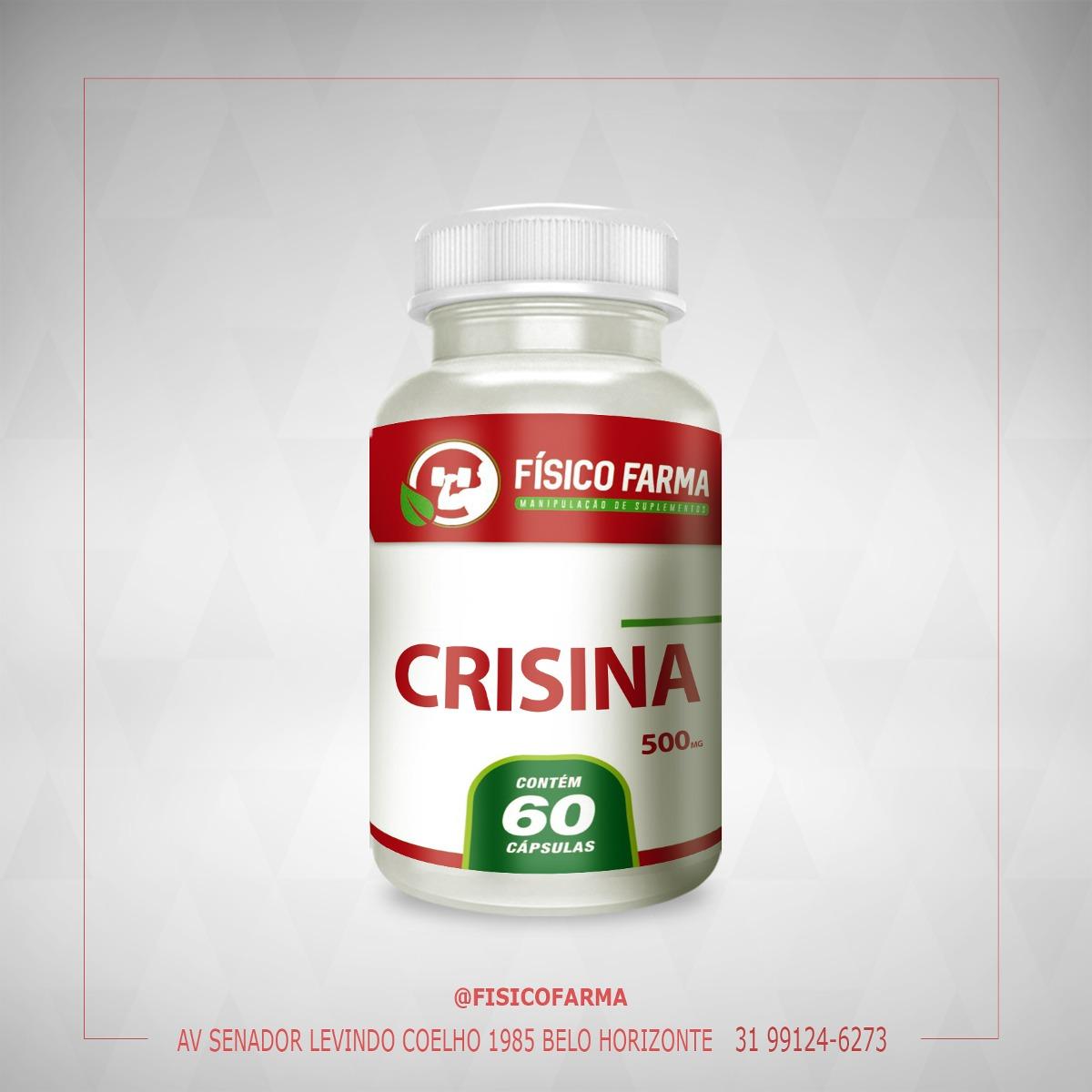CRISINA 500MG 60 CÁPSULAS