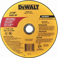 "Disco de Corte 7""x1/16""x7/8"" DeWALT - DW8065"