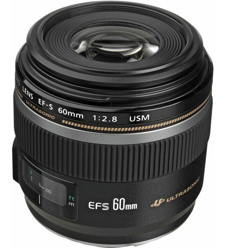 Objetiva Canon Eos Ef-s 60mm F2.8 Usm Macro Original