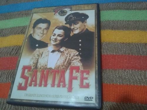 Dvd Santa Fé Ou A Estrada De Santa Fé (flynn, Reagan) Original