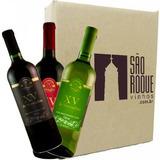 Kit Vinho Bordô Suave + Seco + Branco Niagara - XV de Novembro