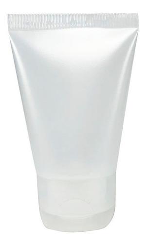 Bisnaga Plástica Natural 30ml C/ Tampa Flip Top (20 Unid) Original